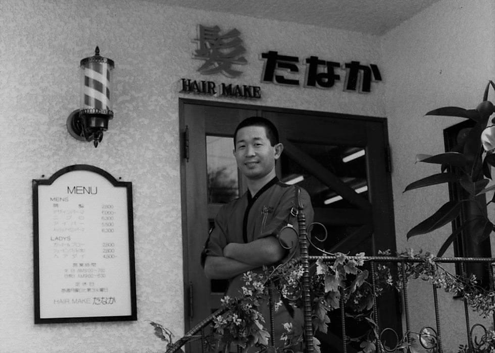 創業当時の田中トシオ