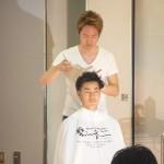 2013クールビズヘア記者会見デモスト